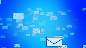Överföra postbakgrund (öglan) royaltyfri illustrationer
