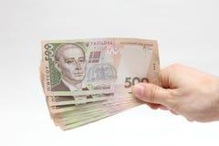 Överföring av pengar Arkivfoton