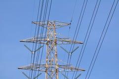 överföring för Hög-makt tornmakt arkivbilder