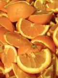 Överflöd av apelsinen Arkivfoto