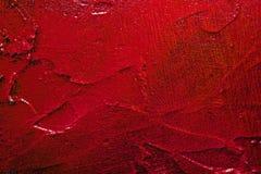 Den röda texturerade väggen ytbehandlar Arkivbilder