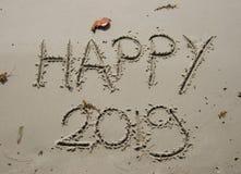 2018/2019 övergång - helgdagsafton för nya år arkivbild