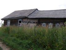 Övergav byar Arkivfoto