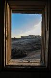 Övergav byggnader Fotografering för Bildbyråer