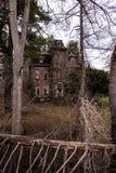 Övergav Jonathan Knight House - Brownsville, Pennsylvania royaltyfri fotografi
