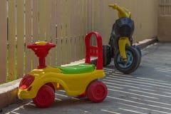 Övergav leksaker Arkivbild