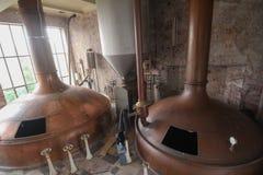 Övergett bryggeri royaltyfri fotografi
