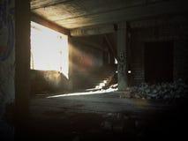 övergett golv Arkivbilder