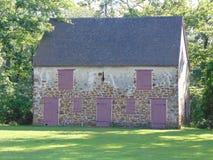 Övergett historiskt hus arkivfoton