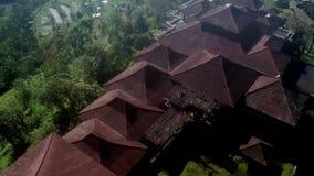 Övergett hotell bali 1 arkivfilmer