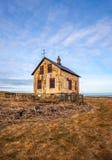 Övergett hus i Island Royaltyfri Bild