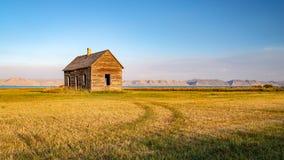 Övergett hus, Utah royaltyfria bilder