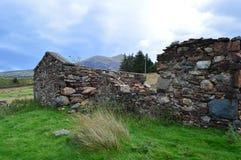 Övergett i Snowdonia II Arkivbilder