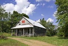 Övergett landslager i Tennessee Arkivfoton