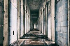 Övergett mentalt sjukhus i Brasilien Royaltyfri Fotografi
