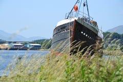 Övergett skepp Arkivbild