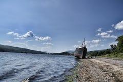 Övergett skepp Fotografering för Bildbyråer