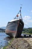 Övergett skepp Royaltyfri Fotografi