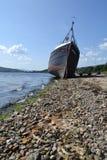 Övergett skepp Royaltyfri Foto