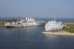 Övergett skepp Arkivfoton