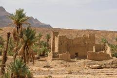 Övergiven berberby i Marocko Royaltyfri Fotografi