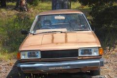 övergiven bil Royaltyfri Fotografi
