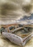 övergiven bil Arkivfoton