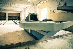 Övergiven bowlingbana Royaltyfri Bild