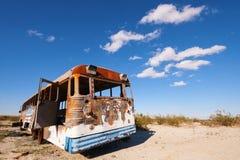 Övergiven buss Arkivbilder