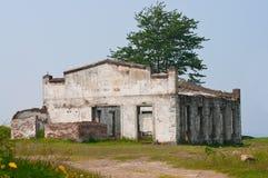 övergiven byggnad