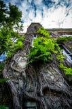 övergiven byggnad Royaltyfri Foto