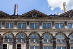 Övergiven byggnad i helgonet Lious, MO Arkivfoton