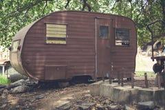 övergiven campare royaltyfri foto