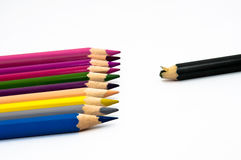 övergiven crayon Arkivbilder