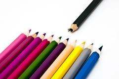 övergiven crayon Royaltyfria Bilder