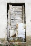 Övergiven dörr Royaltyfria Bilder