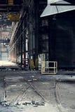 Övergiven enig fabrik för barn - Youngstown, Ohio Arkivbild