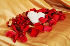 Övergiven förälskelse, symboler royaltyfria foton