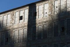 Övergiven fabrik Royaltyfri Foto