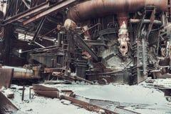 Övergiven fabrik Fotografering för Bildbyråer