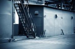 övergiven fabrik Royaltyfria Foton