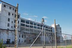 Övergiven fabrik i Detroit Arkivfoton