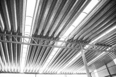 Övergiven fabrik i industriellt Royaltyfria Bilder