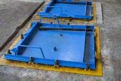 Övergiven fabrik i Mexico Royaltyfria Foton
