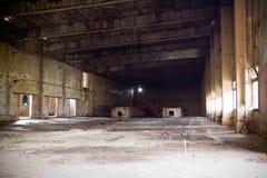 Övergiven fabrik Polen Fotografering för Bildbyråer
