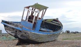 Övergiven fiskebåt Royaltyfri Fotografi