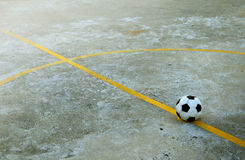 Övergiven fotbollsplan Royaltyfri Foto