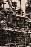 Övergiven gammal Bethlehem Steel för stålväxt växt Royaltyfria Foton