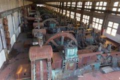 Övergiven gammal Bethlehem Steel för stålväxt växt i Betlehem, Pennsylvania Royaltyfri Fotografi