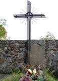 Övergiven grav Arkivbild